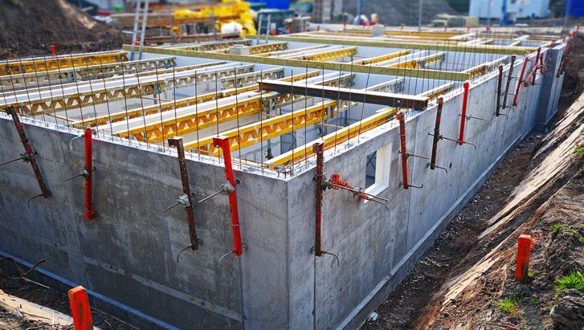 Reinforced concrete frames West London
